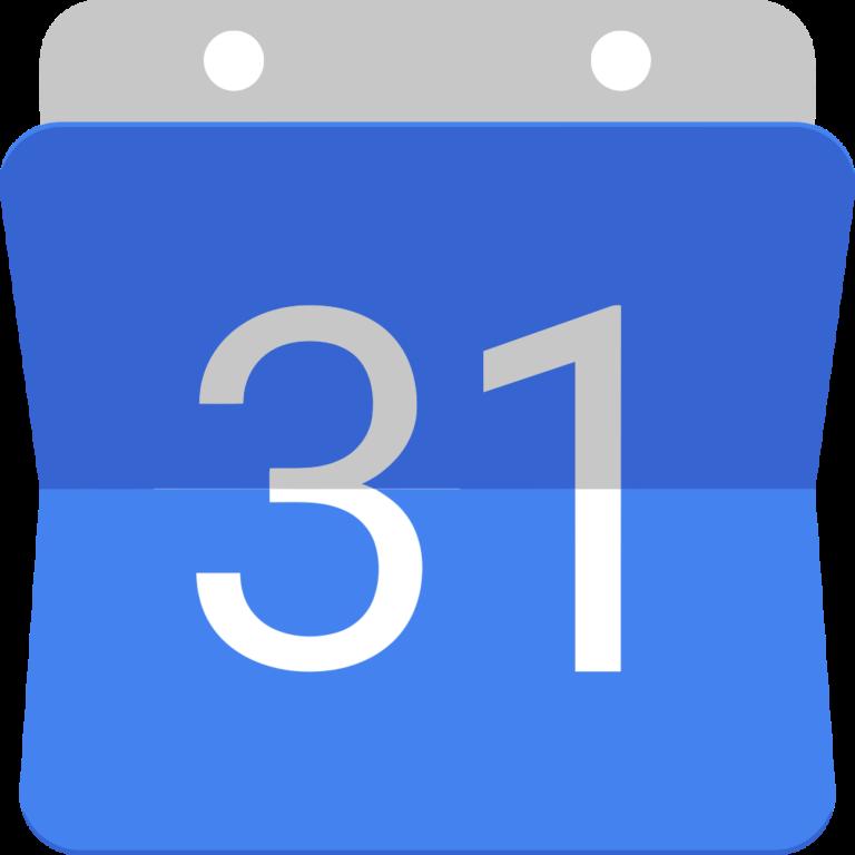 logo d'un calendrier bleu avec le numéro 31 écrit en gros au centre en blanc