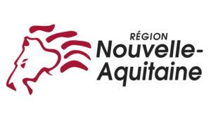Logo de la région nouvelle huitaine : un dessin d'une tête de lion rouge