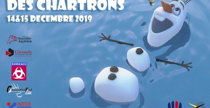 affiche tournoi givré : Olaf fait la planche