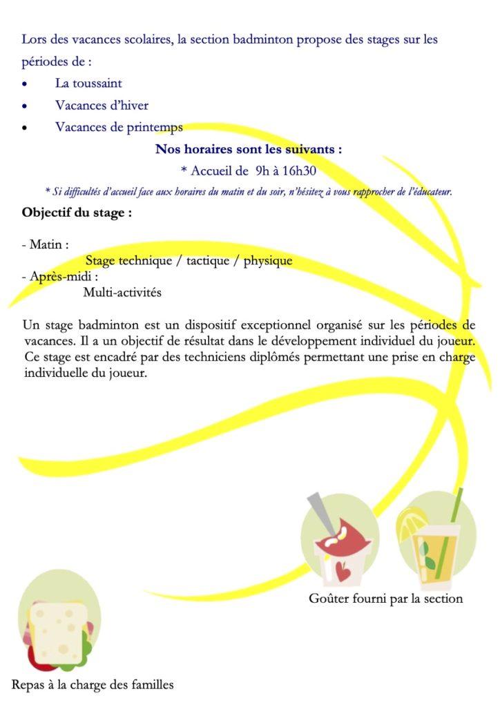Info Stage Badminton 3